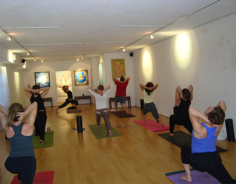 Contact Dharma Yoga Studio serving Coconut Grove, Coral Gables, South Miami, the Roads, Brickell, Downtown Miami, Key Biscayne, Shenandoah and the University of Miami - by Natalie Morales and Loree Shrager.