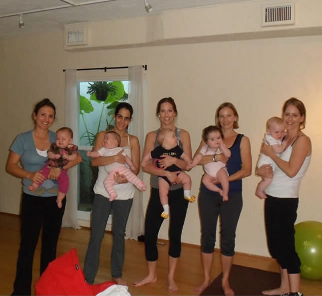 Return for our Postnatal Baby and Me Yoga classes, designed to balance and restore the physical needs of new mothersand their babies. Post-Natal Yoga is a great way to bond with your little one, whocomes with you to class and becomes an active participant too, sharing the joy of yoga and easing your stress of being an active parent - Dharma Studio