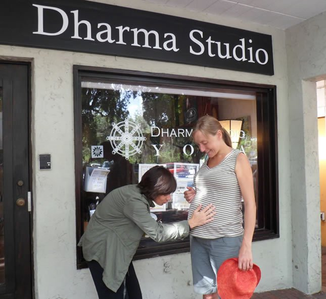 Pre-Natal Yoga helps expecting moms release tension and anxiety while promoting relaxation, flexibility and strength in a gentle way - Dharma Studio